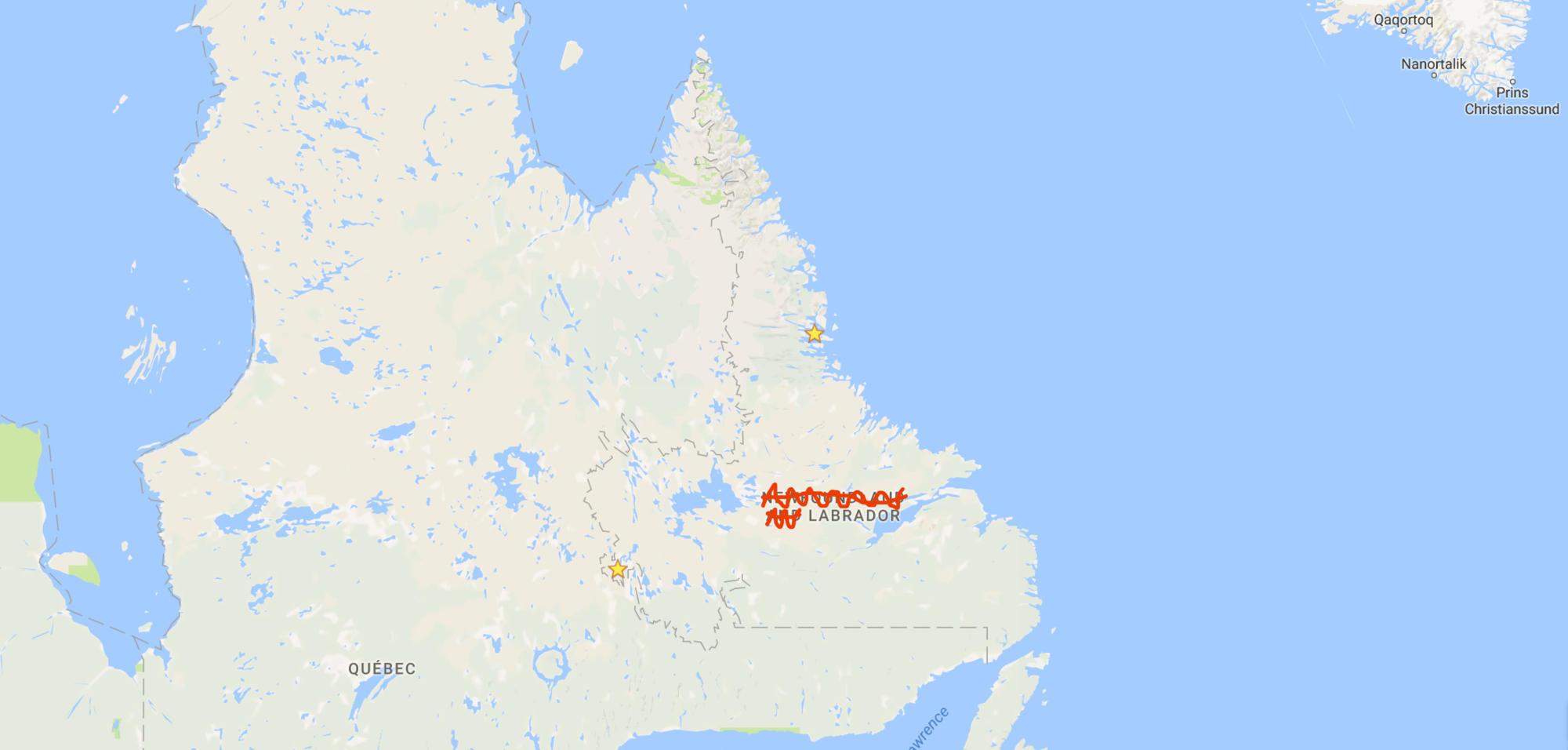 Map - Labrador